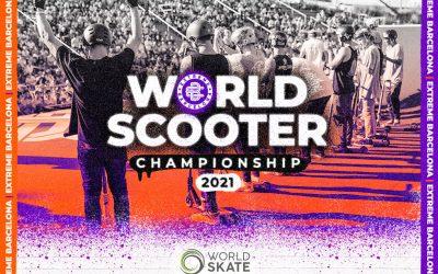 WORLD SKATE CONFIRMA LOS SCOOTER WORLD CHAMPIONSHIPS 2021 EN EL EXTREME BARCLEONA