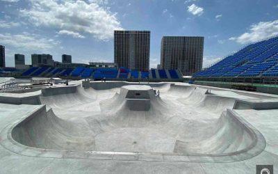 World Skate anuncia els nous skateparks per als jocs de Tokio
