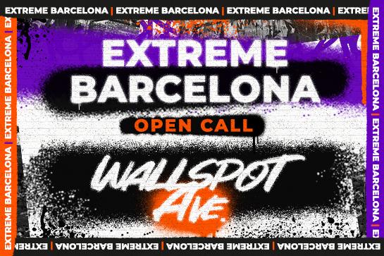 ¡Atenció grafiters! Nova crida per pintar a la Wallspot Ave de l'Extreme Barcelona