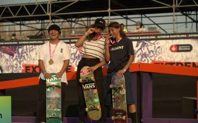 Mauro Esteban Iglesias es penja l'or en Skateboarding masculí i Virginia Cavalcante s'emporta l'edició femenina