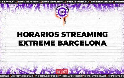 ¡Repasa los horarios del streaming de Extreme Barcelona!