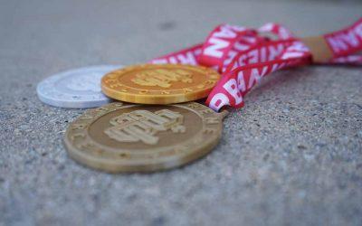 L'Extreme més sostenible: medalles fetes amb mascaretes reciclables
