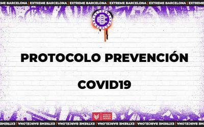 Protocolo de prevención de COVID19