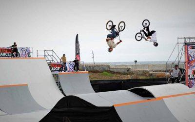 Daniel Dhers lidera la primera jornada del BMX Park en el Extreme Barcelona