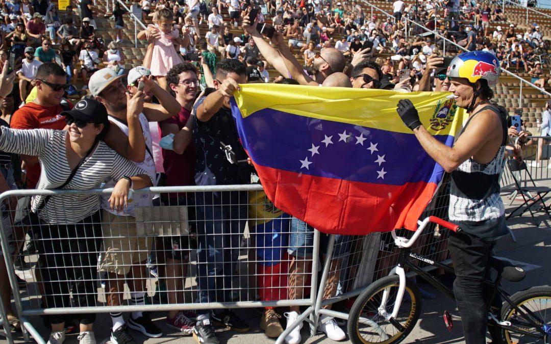 Daniel Dhers reina en el Extreme Barcelona