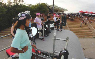 El scooter femenino aterriza en el Extreme Barcelona y el street es la modalidad de moda